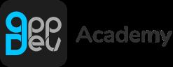 App Dev Academy dark logo